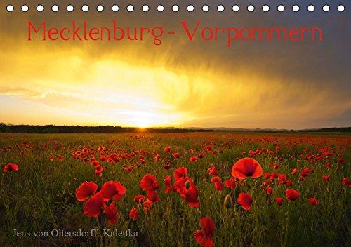 Mecklenburg - Vorpommern, Tischkalender 2019