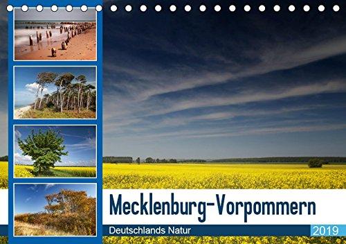 Mecklenburg-Vorpommern, Tischkalender 2019