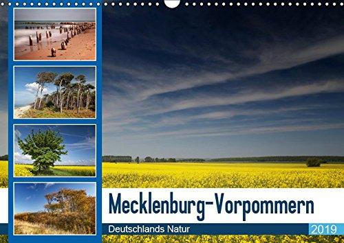 Mecklenburg-Vorpommern, Wandkalender 2019