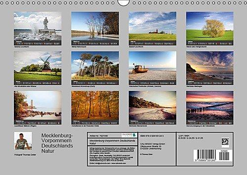 Mecklenburg-Vorpommern (Wandkalender 2019 DIN A3 quer): Deutschlands Natur (Monatskalender, 14 Seiten ) (CALVENDO Orte) - 14