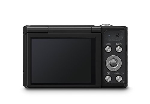 Panasonic LUMIX DMC-SZ10EG-K Style-Kompakt Digitalkamera (12x opt. Zoom, 2,7 Zoll LCD-Display um 180° schwenkbar,WiFi, HD-Videos, Bildstabilisator) schwarz - 4