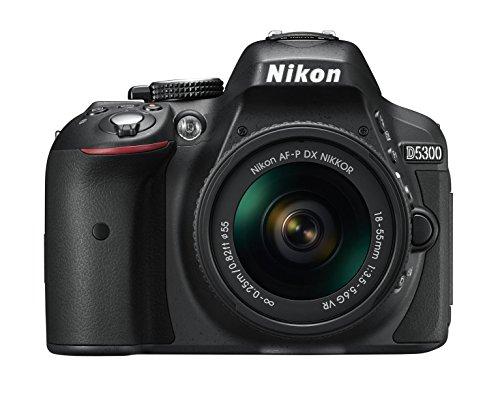 Nikon D5300 SLR-Digitalkamera Kit DX AF-P 18-55 VR schwarz - 2