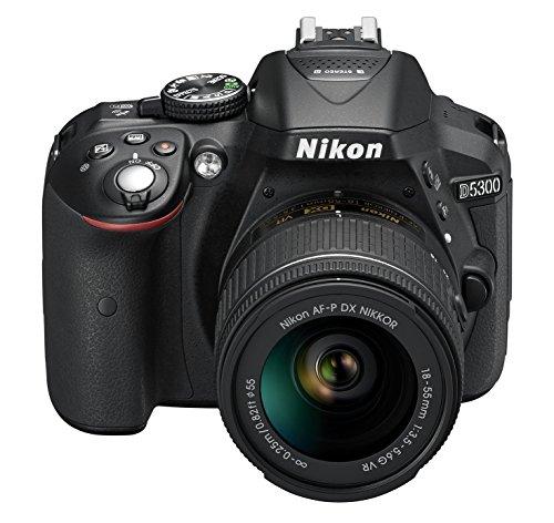 Nikon D5300 SLR-Digitalkamera Kit DX AF-P 18-55 VR schwarz - 4