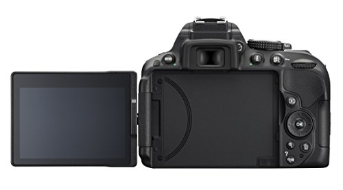 Nikon D5300 SLR-Digitalkamera (24,2 Megapixel, 8,1cm (3,2 Zoll) LCD-Display, Full HD, HDMI, WiFi, GPS, AF-System mit 39 Messfeldern) Kit inkl. AF-S DX 18-105 VR Objektiv schwarz - 7
