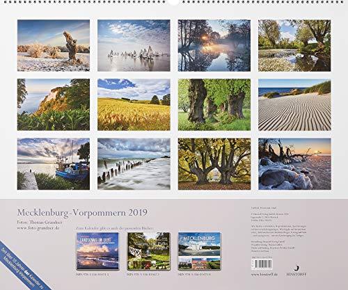 Kalender Mecklenburg-Vorpommern: 2019 - 2