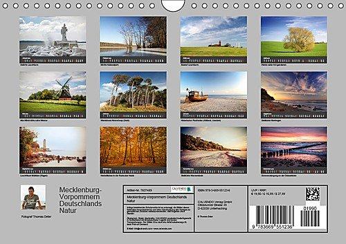 Mecklenburg-Vorpommern (Wandkalender 2019 DIN A4 quer): Deutschlands Natur (Monatskalender, 14 Seiten ) (CALVENDO Orte) - 14