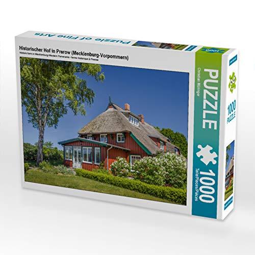 Historischer Hof in Prerow, 1000 Teile Puzzle