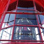 Laterne mit Fresnel-Linse vom Leuchtturm Dornbusch, Foto: Hans-Joachim Luttermann